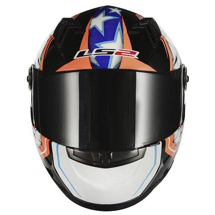 Capacete LS2 FF358 Racer Cor: Colorido