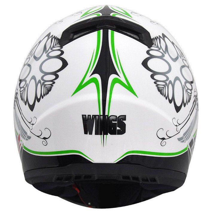 Capacete LS2 FF358 Wings Cor: Verde