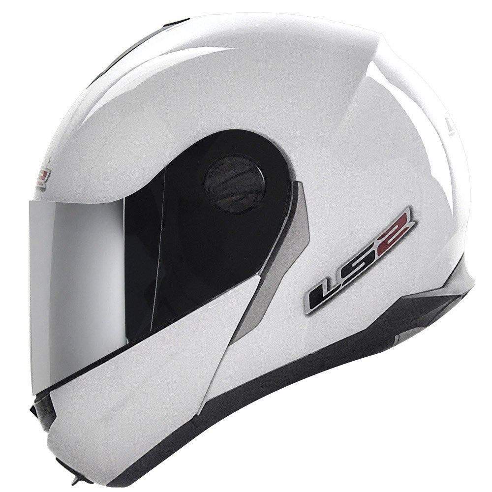 Capacete LS2 FF386 Mono Cor: Preto Branco