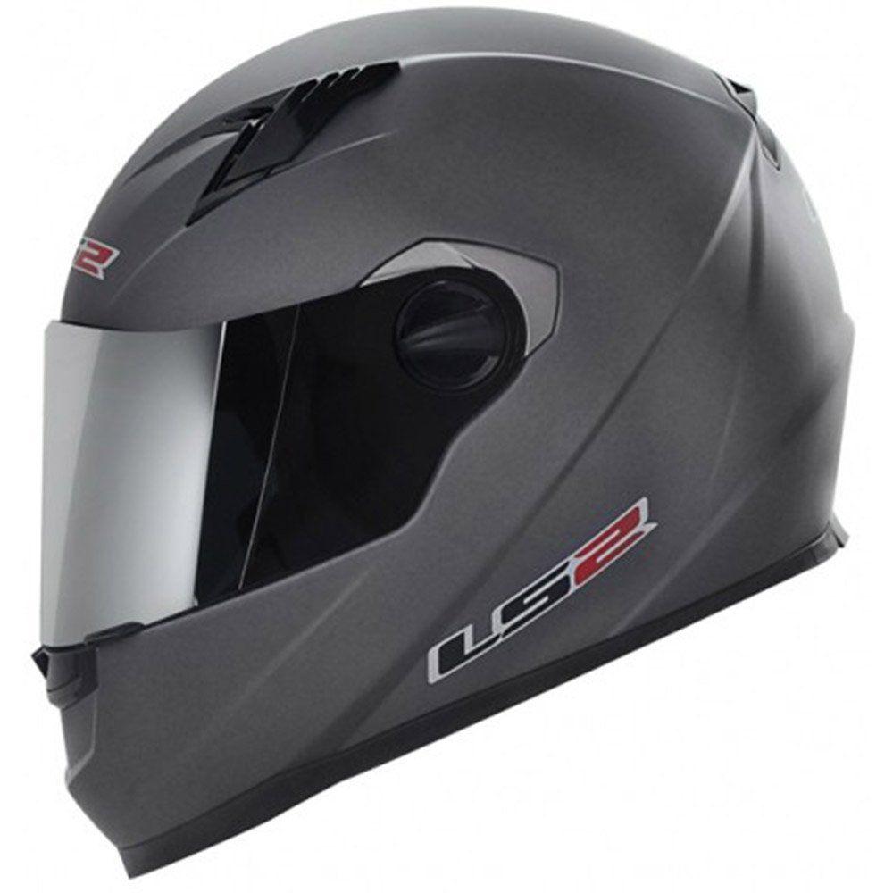 Capacete LS2 FF386 Mono Cor: Cinza