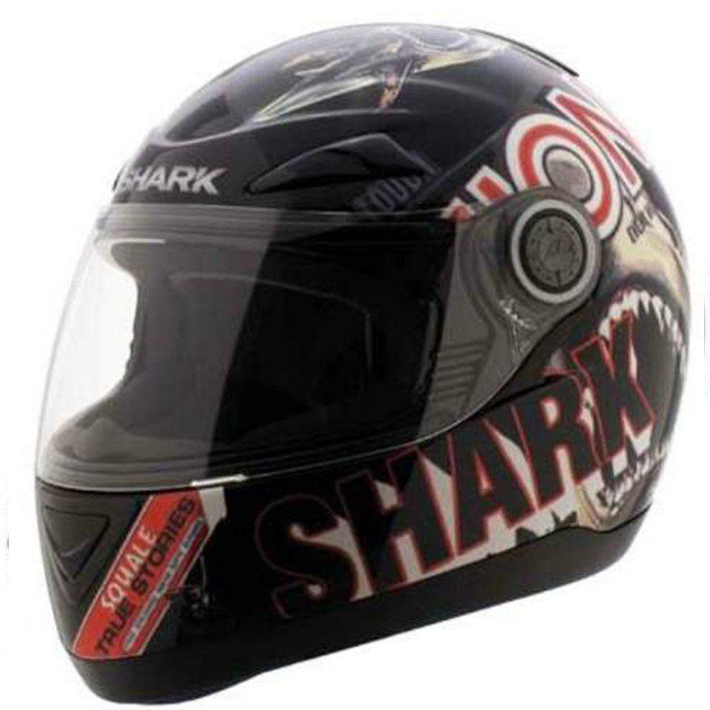 Capacete Shark S500 Air Sharky Cor: Preto