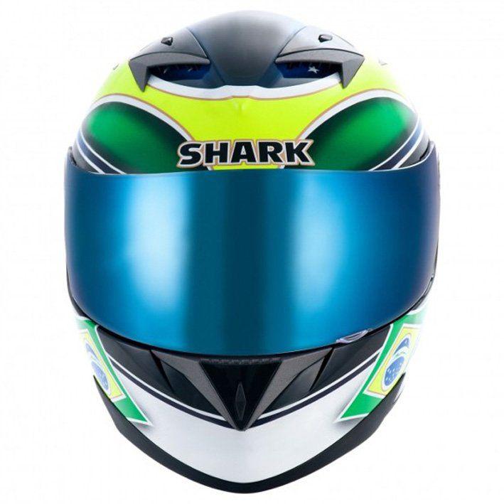 Capacete Shark S700 Brasil KGY Cor: Colorido