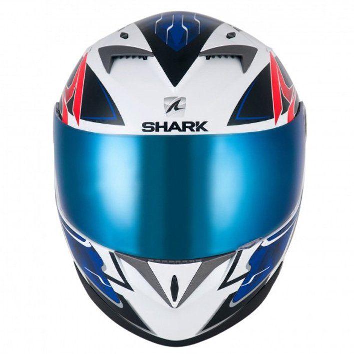 Capacete Shark S700 Stipple WBR Cor: Azul Branco