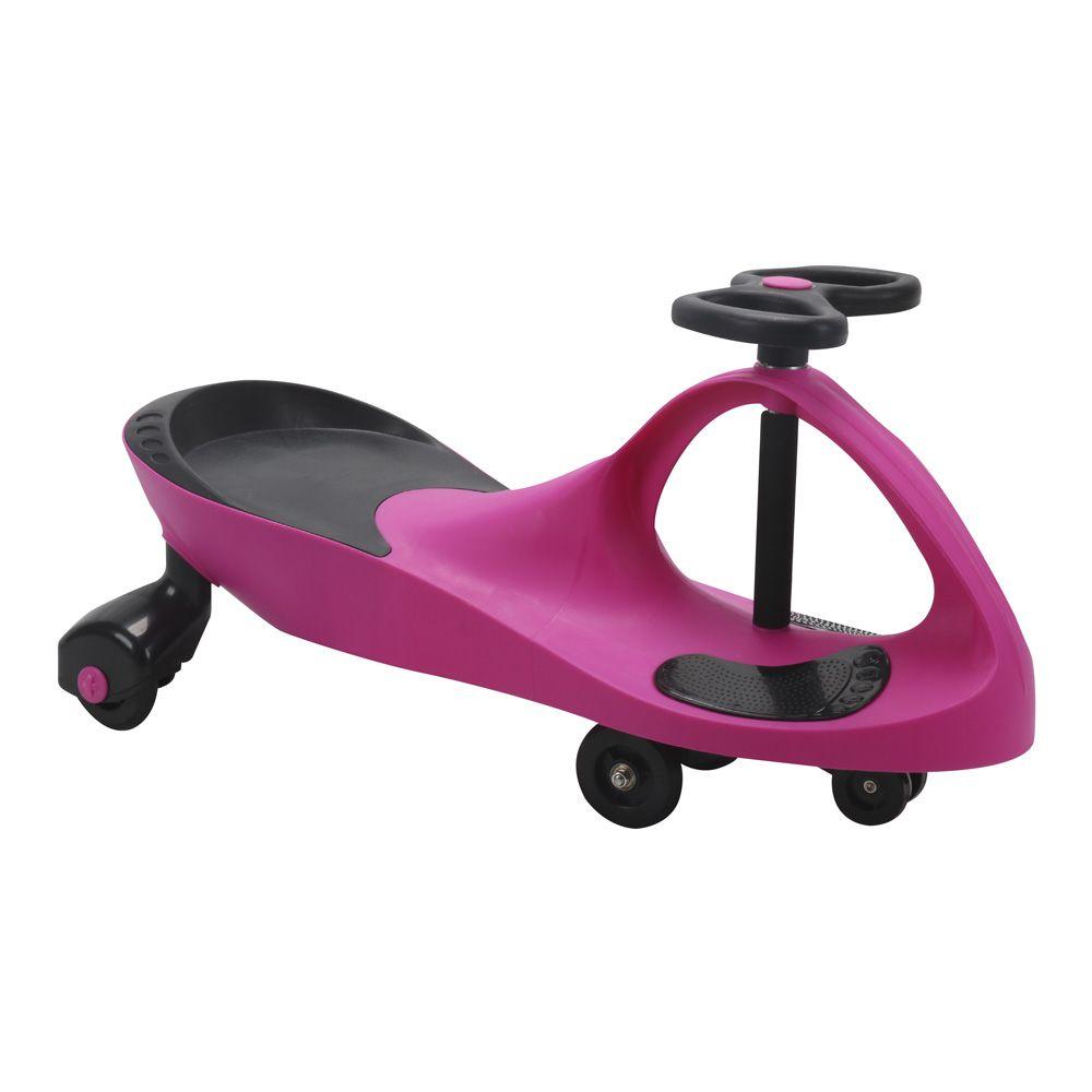 Carro de Rolima Giro Car Carrinho Infantil Gira Gira BW004 Importway - Rosa