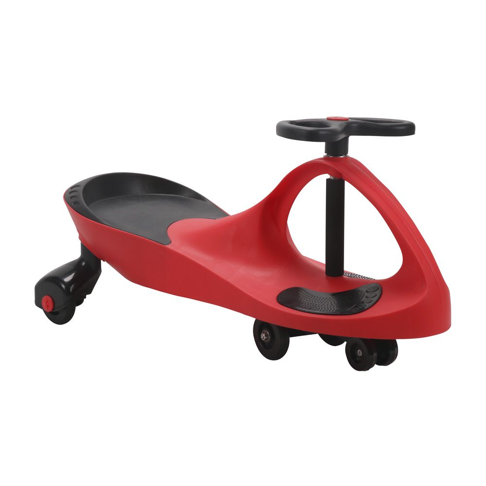 Carro de Rolima Giro Car Carrinho Infantil Gira Gira BW004 Importway - Vermelho