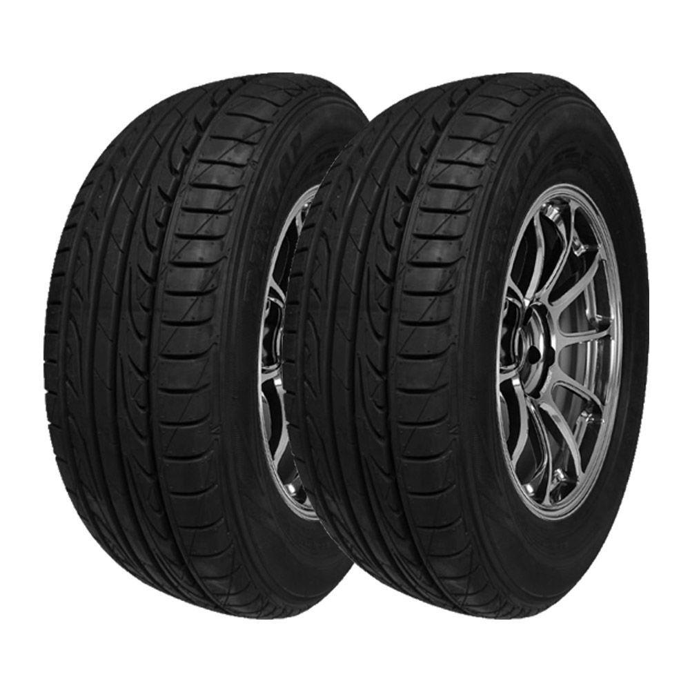 Combo com 2 Pneus 195/55R15 Dunlop SPLM704 85V