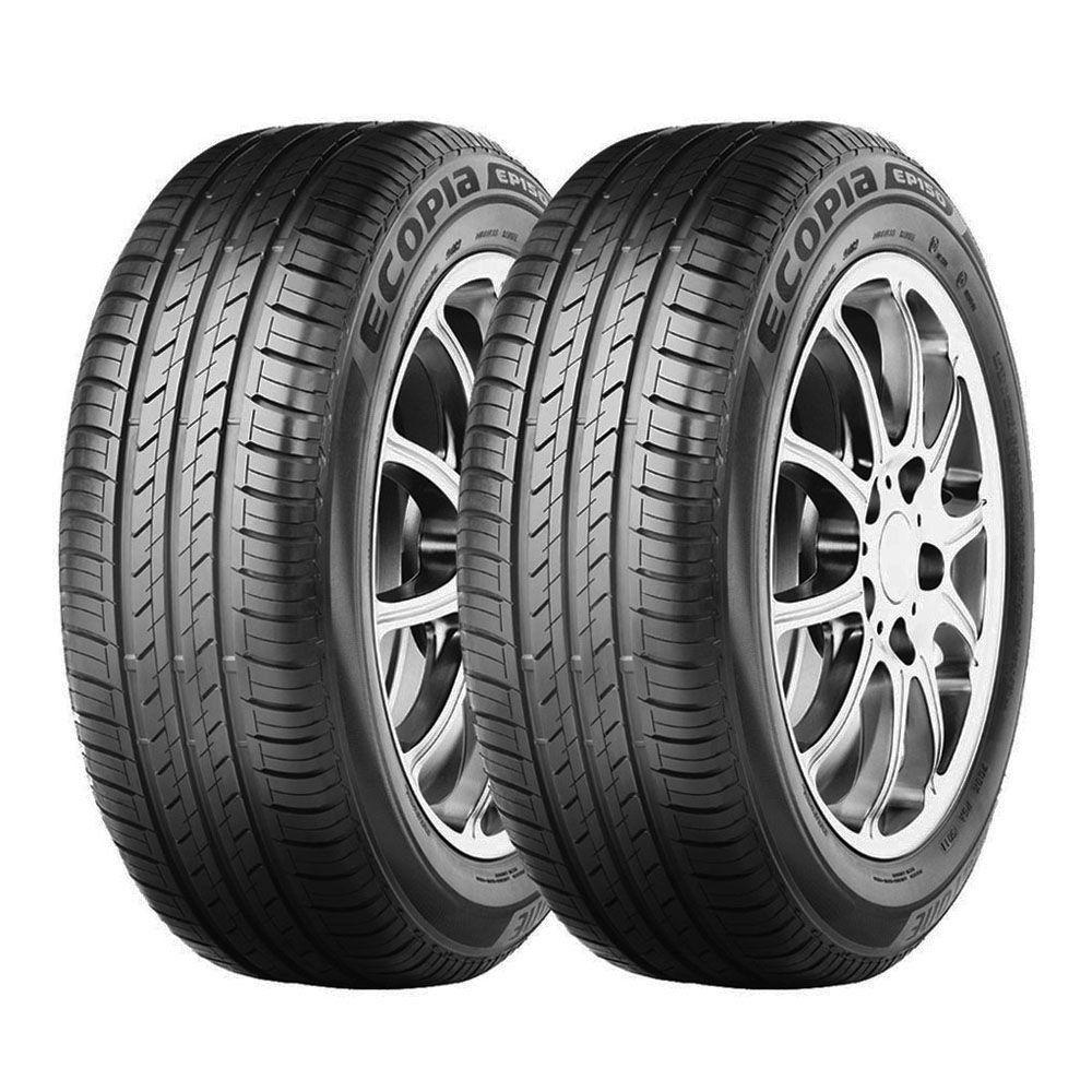 Combo com 2 Pneus 195/65R15 Bridgestone Ecopia EP150 91H #