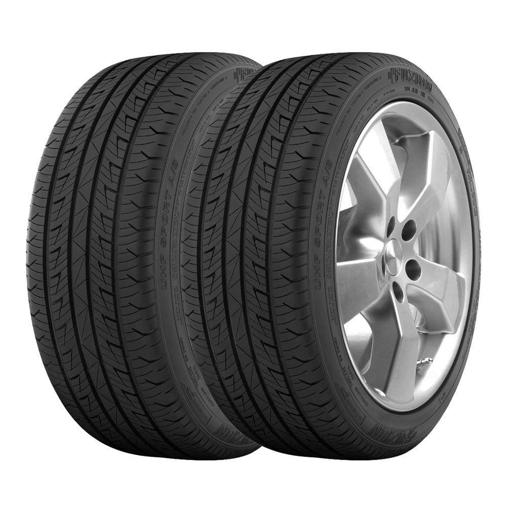 Combo com 2 Pneus 225/45R17 Bridgestone Fuzion UHP Sport A/S 94W