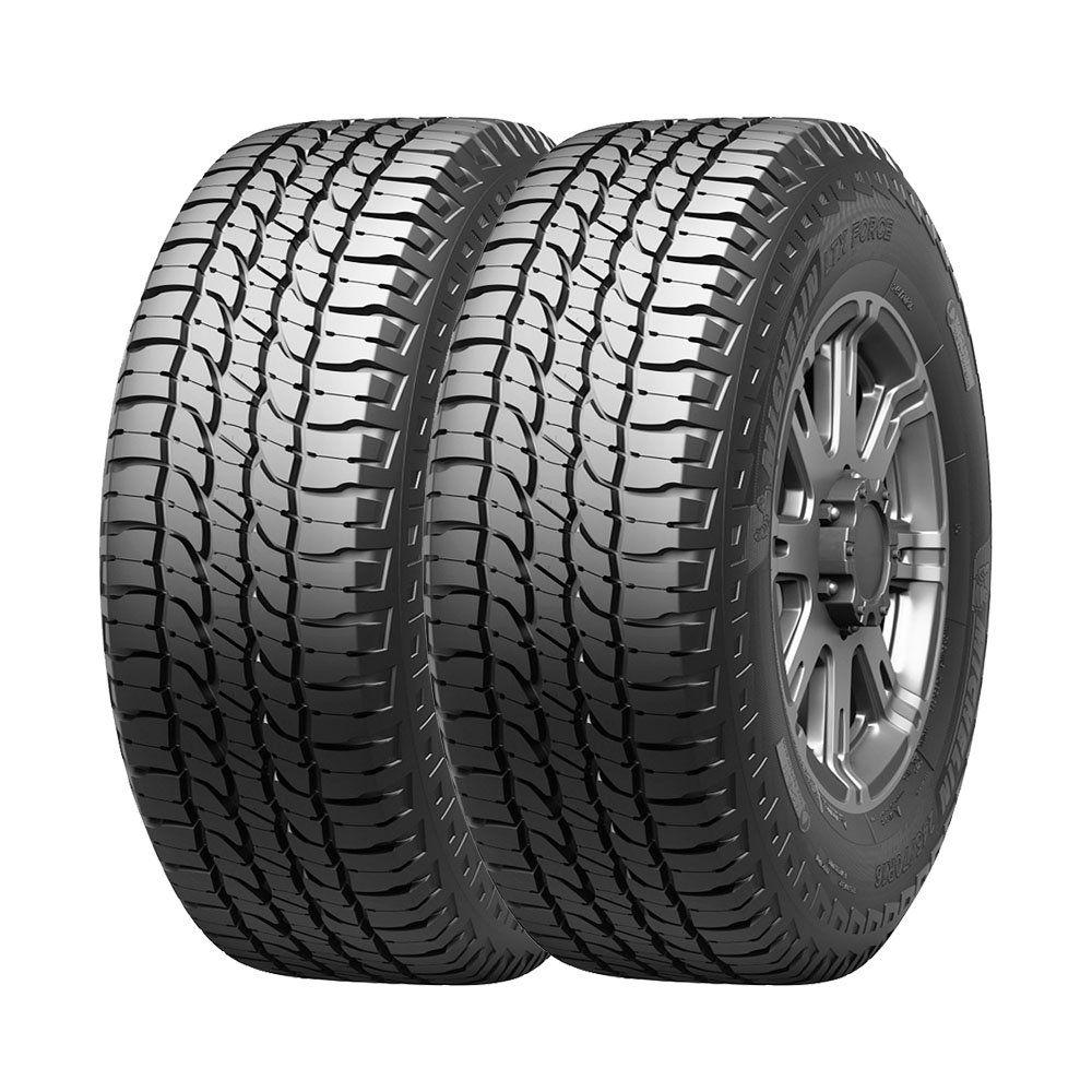 Combo com 2 Pneus 265/60R18 Michelin LTX Force A/T 110H