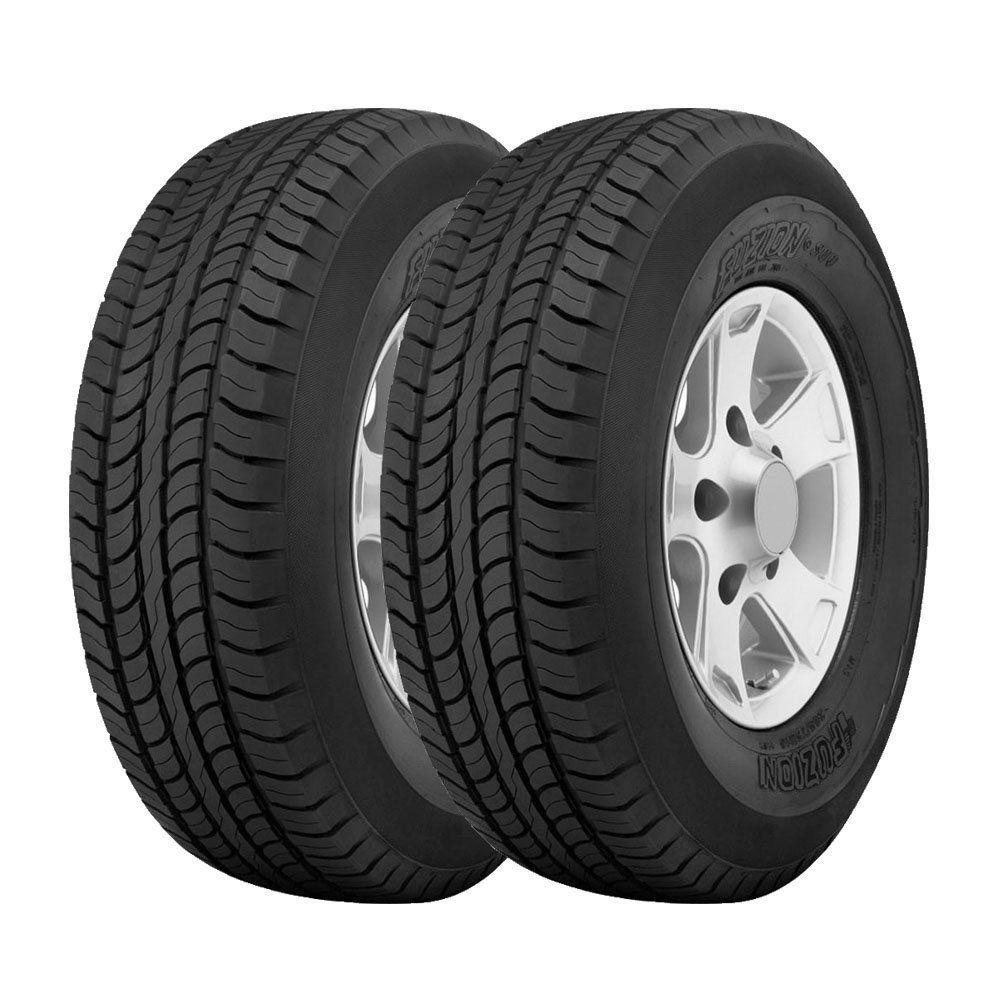 Combo com 2 Pneus 265/65R17 Bridgestone Fuzion SUV H/T 112T