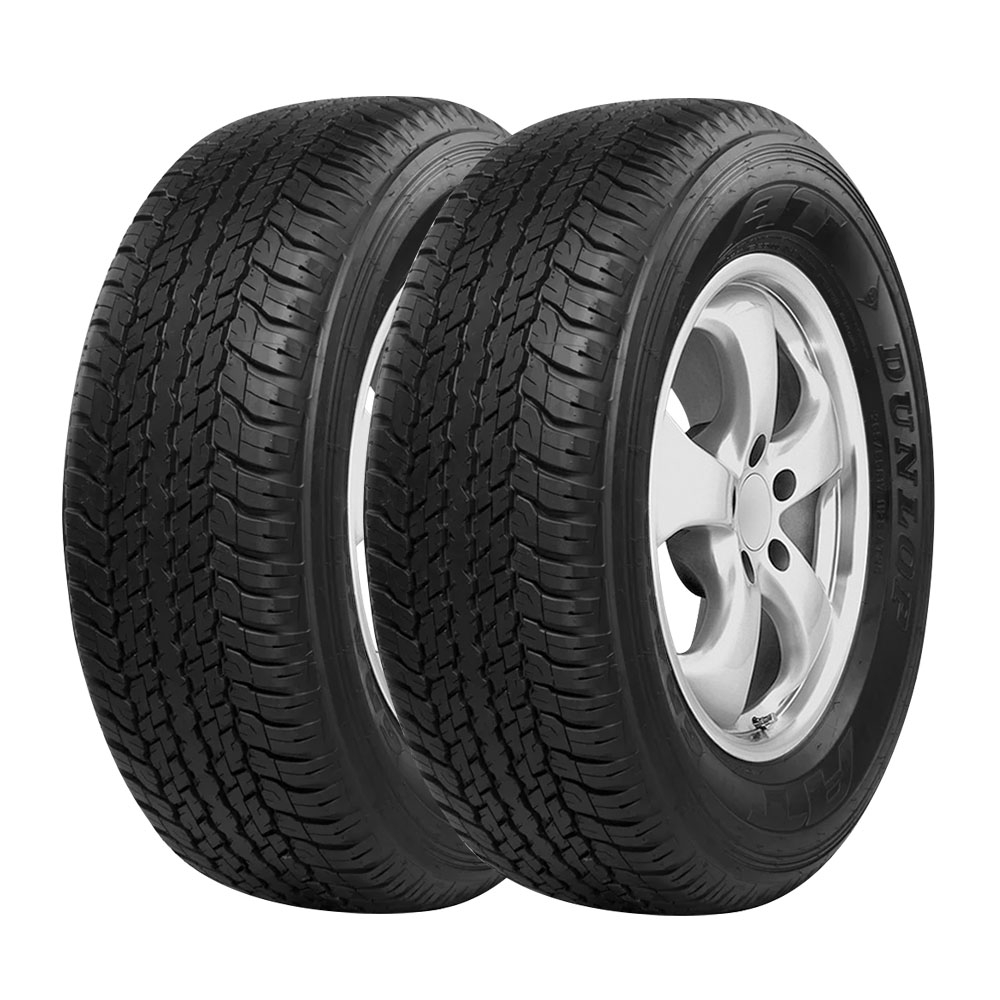 Combo com 2 Pneus 265/65R17 Dunlop Grandtrek AT25 112S (Original Toyota Hilux SW4 2016)