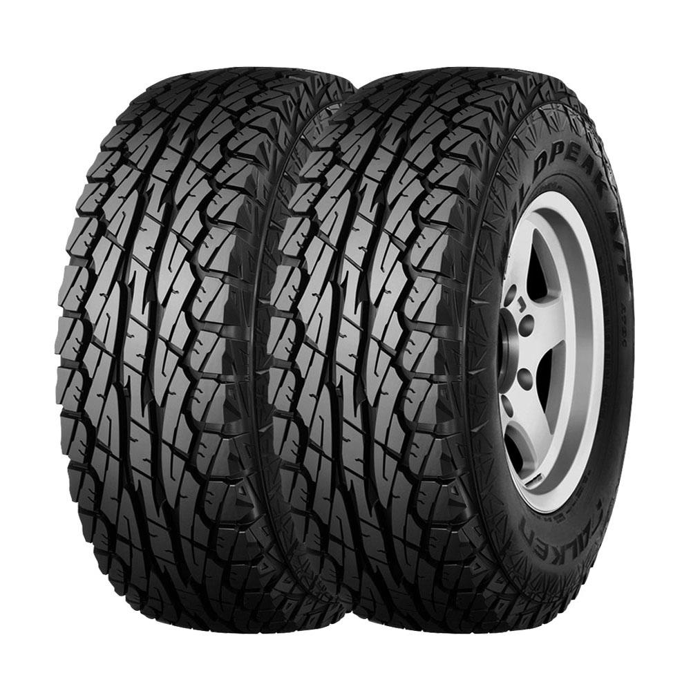 Combo com 2 Pneus 31x10,5R15 Dunlop Falken Wildpeak WPAT01 A/T 109S