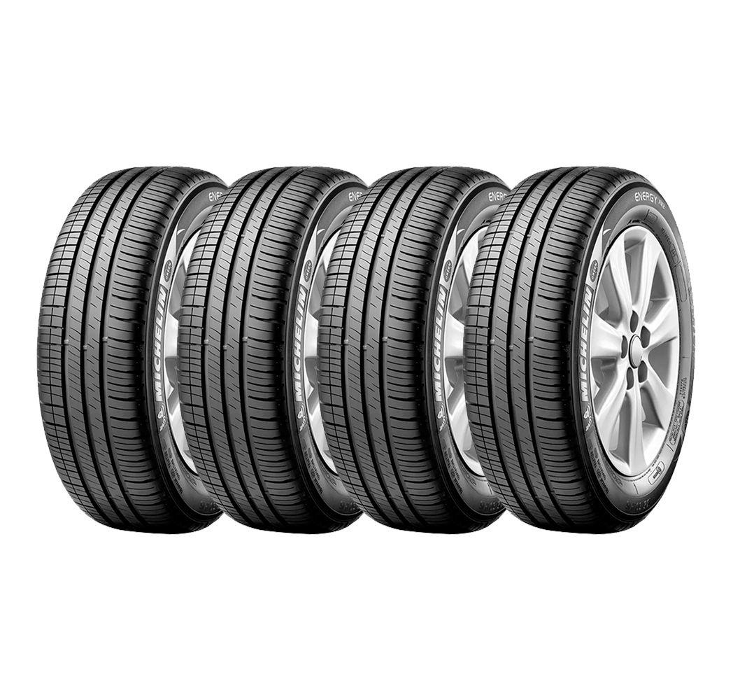 Combo com 4 Pneus 175/65R14 Michelin Energy XM2 82T