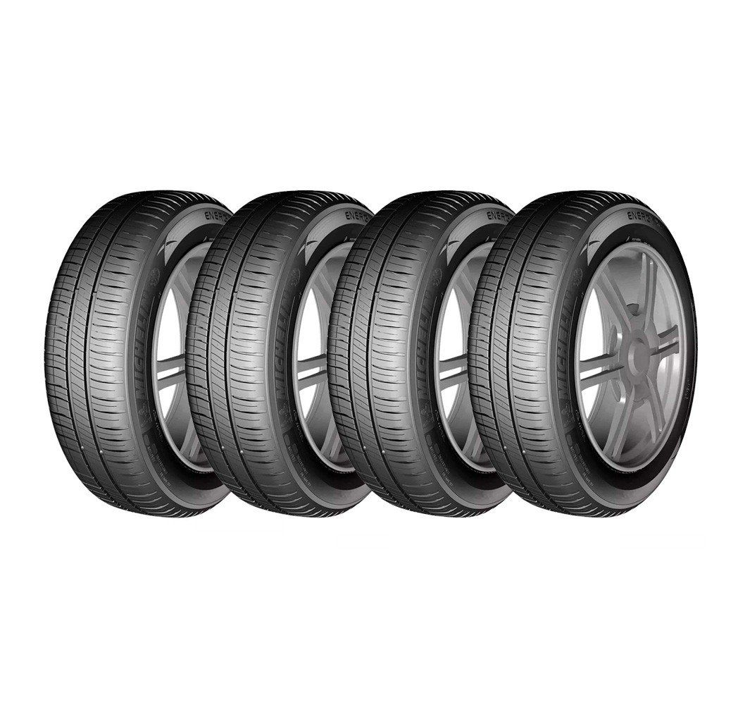 Combo com 4 Pneus 185/60R14 Michelin Energy XM2 82H