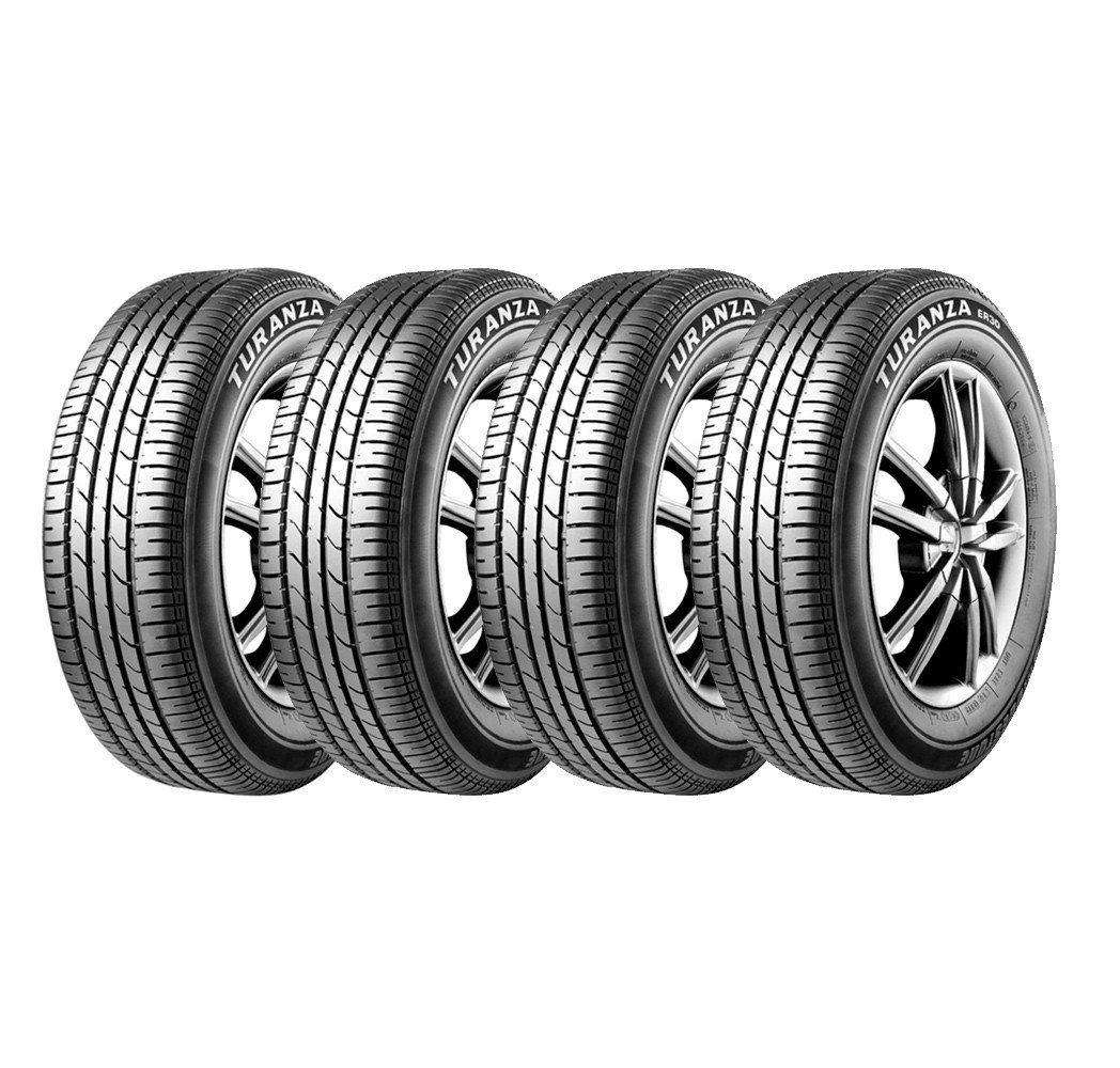 Combo com 4 Pneus 195/55R15 Bridgestone Turanza ER30 85H  (PREVISÃO DE DESPACHO DIA 05/02/2021)