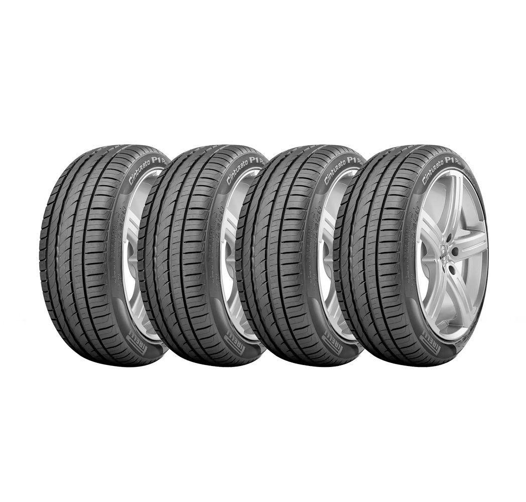 Combo com 4 Pneus 195/55R15 Pirelli Cinturato P1 85V