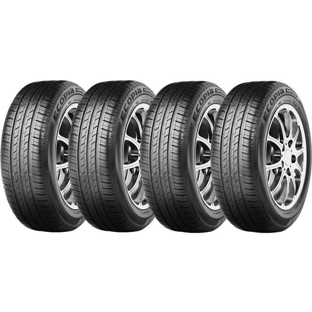 Combo com 4 Pneus 195/65R15 Bridgestone Ecopia EP150 91H