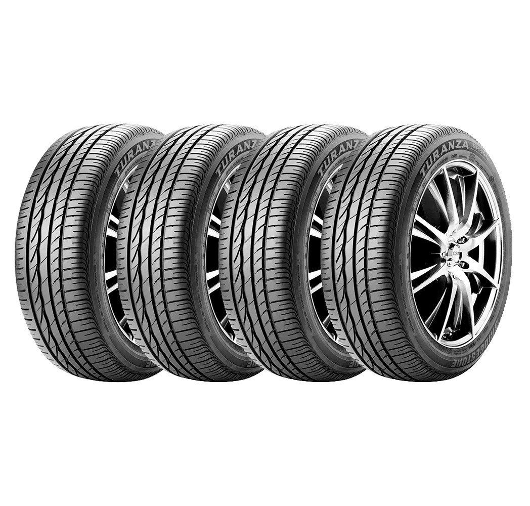 Combo com 4 Pneus 205/55R16 Bridgestone Turanza ER300 91V