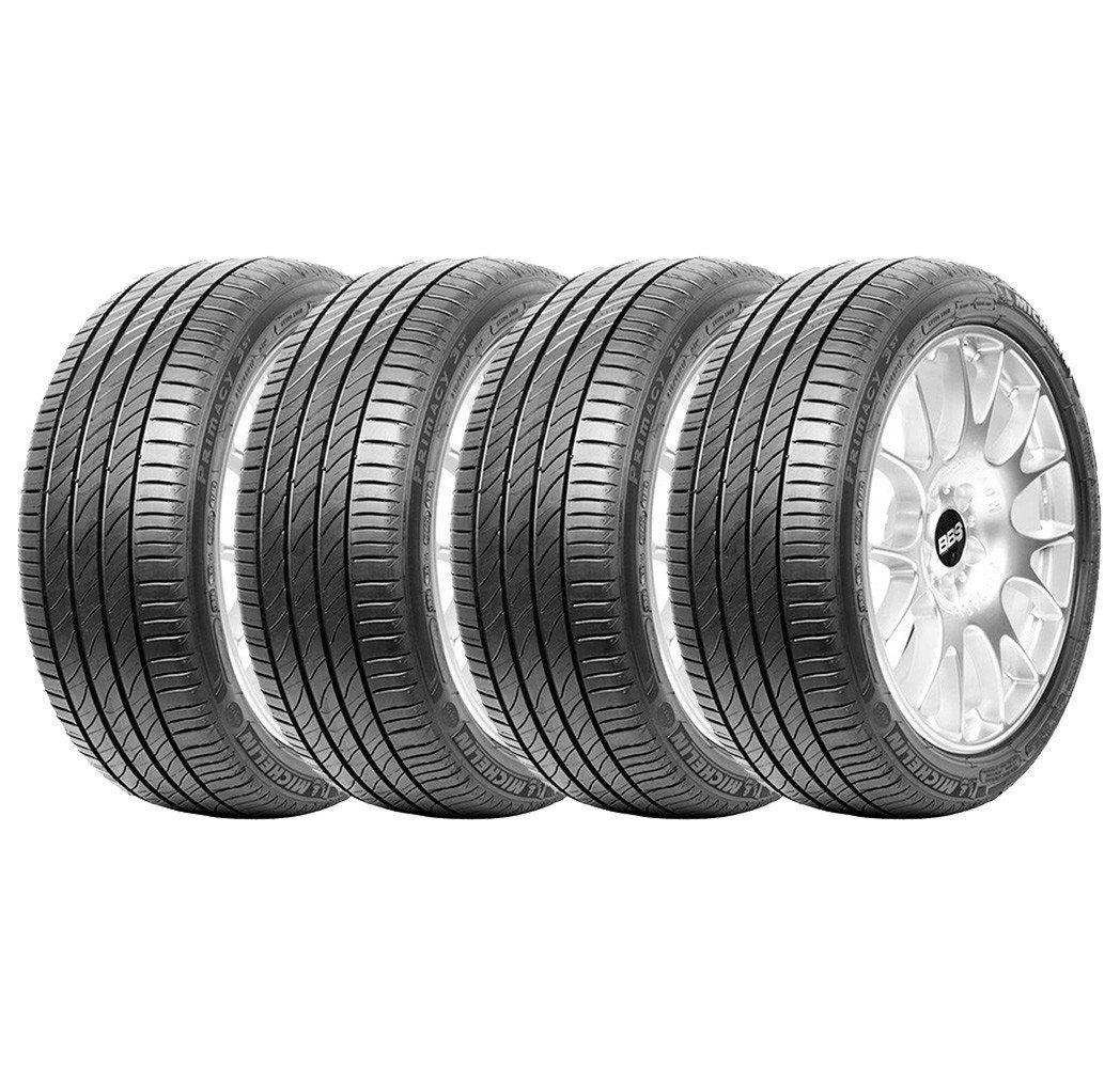 Combo com 4 Pneus 215/55R17 Michelin Primacy 3 91V