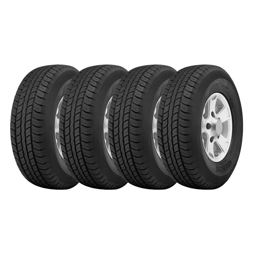Combo com 4 Pneus 225/65R17 Bridgestone Fuzion SUV H/T 102H