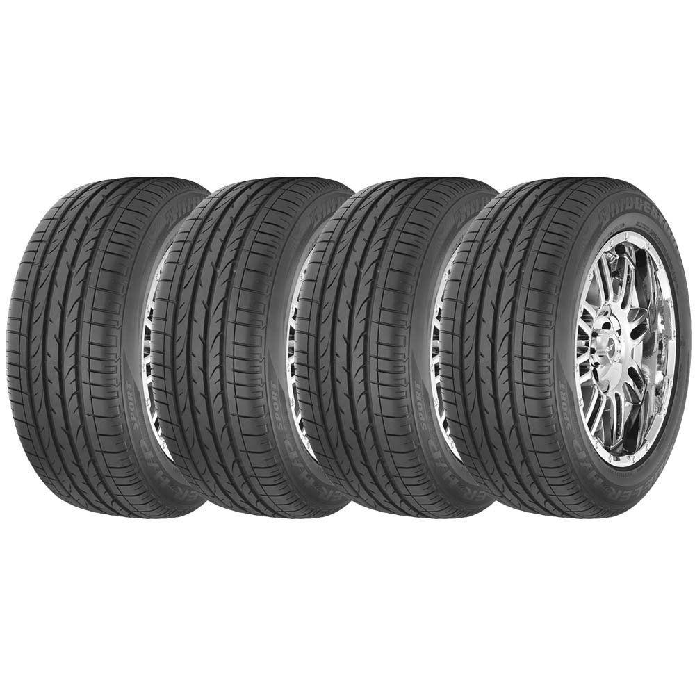 Combo com 4 Pneus 235/60R18 Bridgestone Dueler H/P Sport 103W (Original Audi Q5) #
