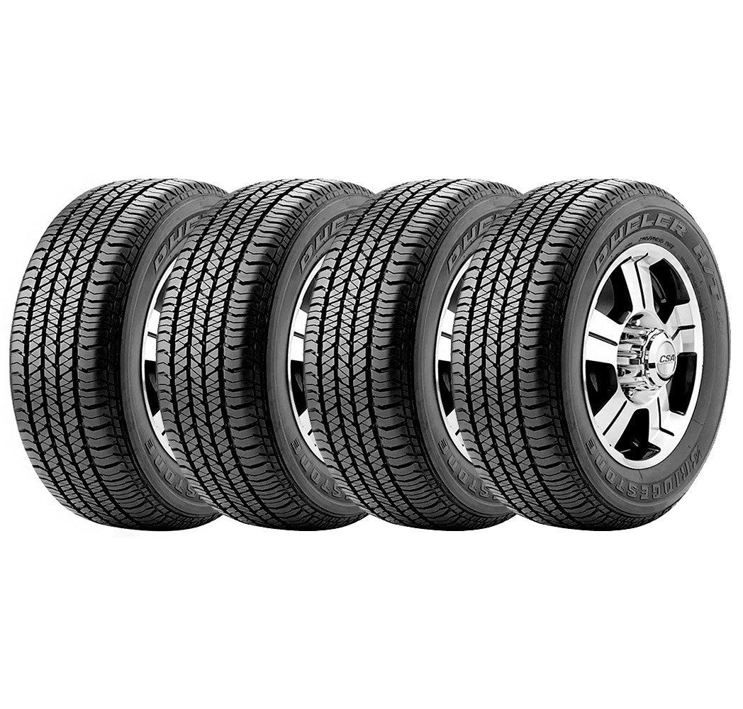 Combo com 4 Pneus 265/60R18 Bridgestone Dueler H/T 684 II Ecopia 110T #