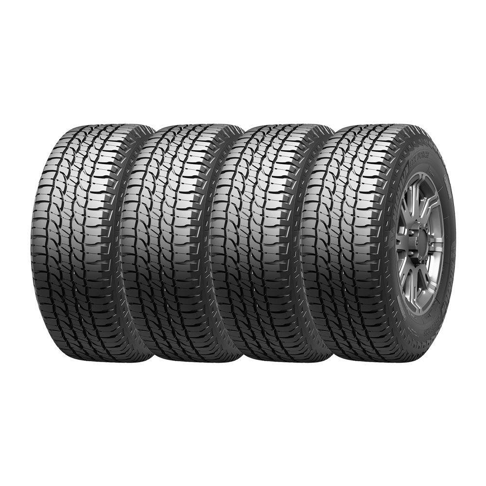 Combo com 4 Pneus 265/65R17 Michelin LTX Force A/T 112H