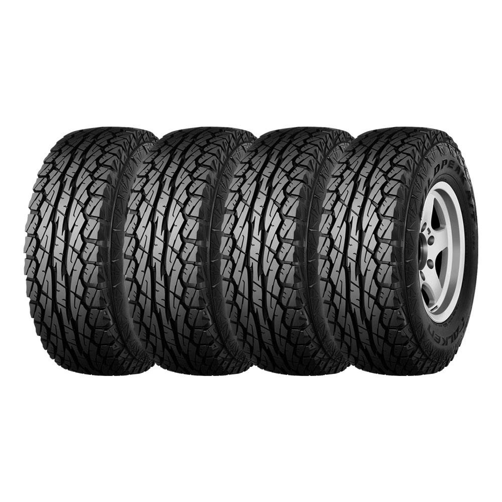 Combo com 4 Pneus 31x10,5R15 Dunlop Falken Wildpeak WPAT01 A/T 109S