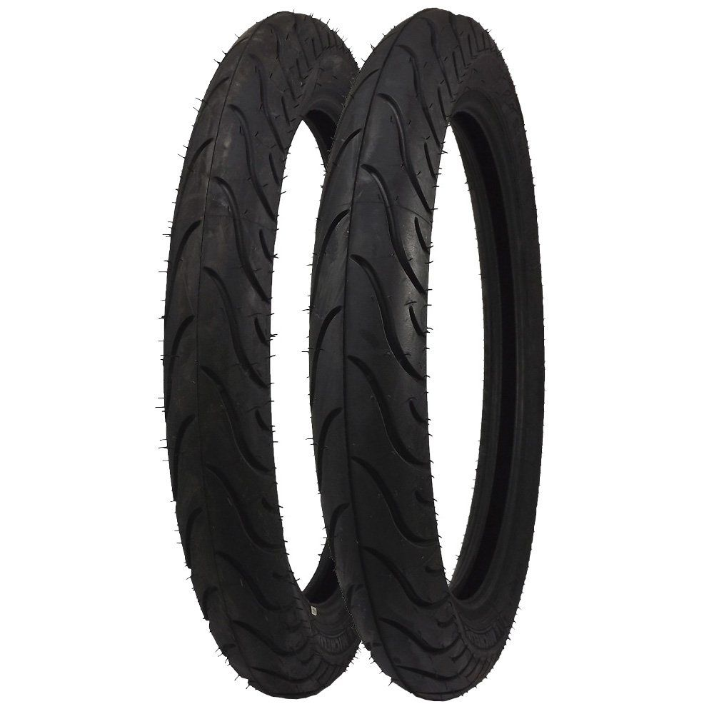 Combo Pneu Dianteiro 275R18 + Traseiro 90/90R18 Michelin Pilot Street TL/TT Moto