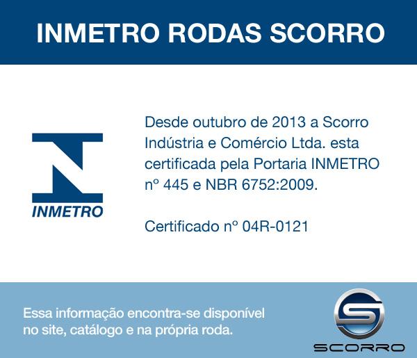 Jogo de 4 Rodas de Liga-Leve Aro 14 Scorro S-215 4x100 - COR: CROMO DIAMANTADA