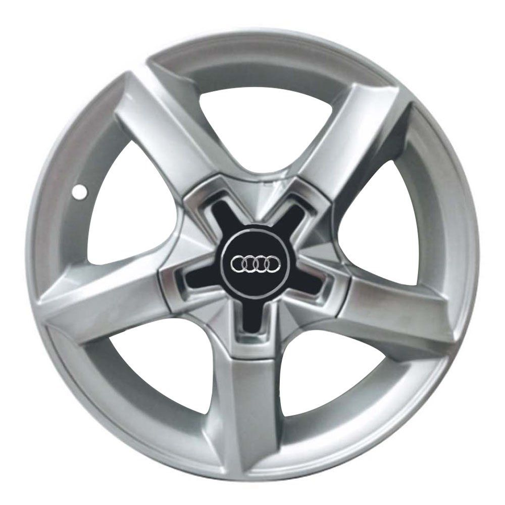 Jogo de 4 Rodas de Liga-Leve Aro 14 Zunky ZK-520 Multi (4x98 à 4x108) (Audi) - COR: PRATA
