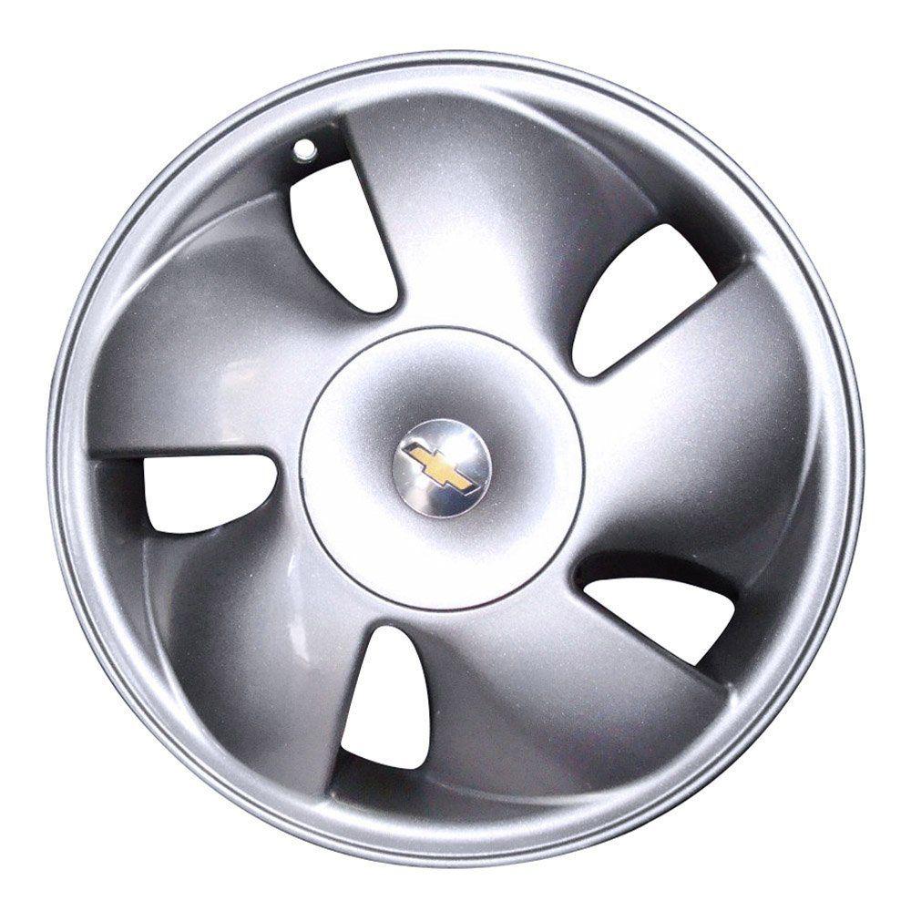 Jogo de 4 Rodas de Liga-Leve Aro 15 Zunky ZK-450 4x100 (Original Vectra GSI) (Modelo Catavento Ventilador) - COR: PRATA