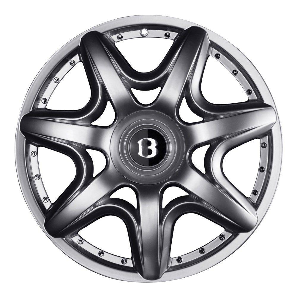 Jogo de 4 Rodas de Liga-Leve Aro 17 Zunky ZK-580 Multi (4x98 à 4x108) (Original Bentley) - COR: GRAFITE DIAMANTADA
