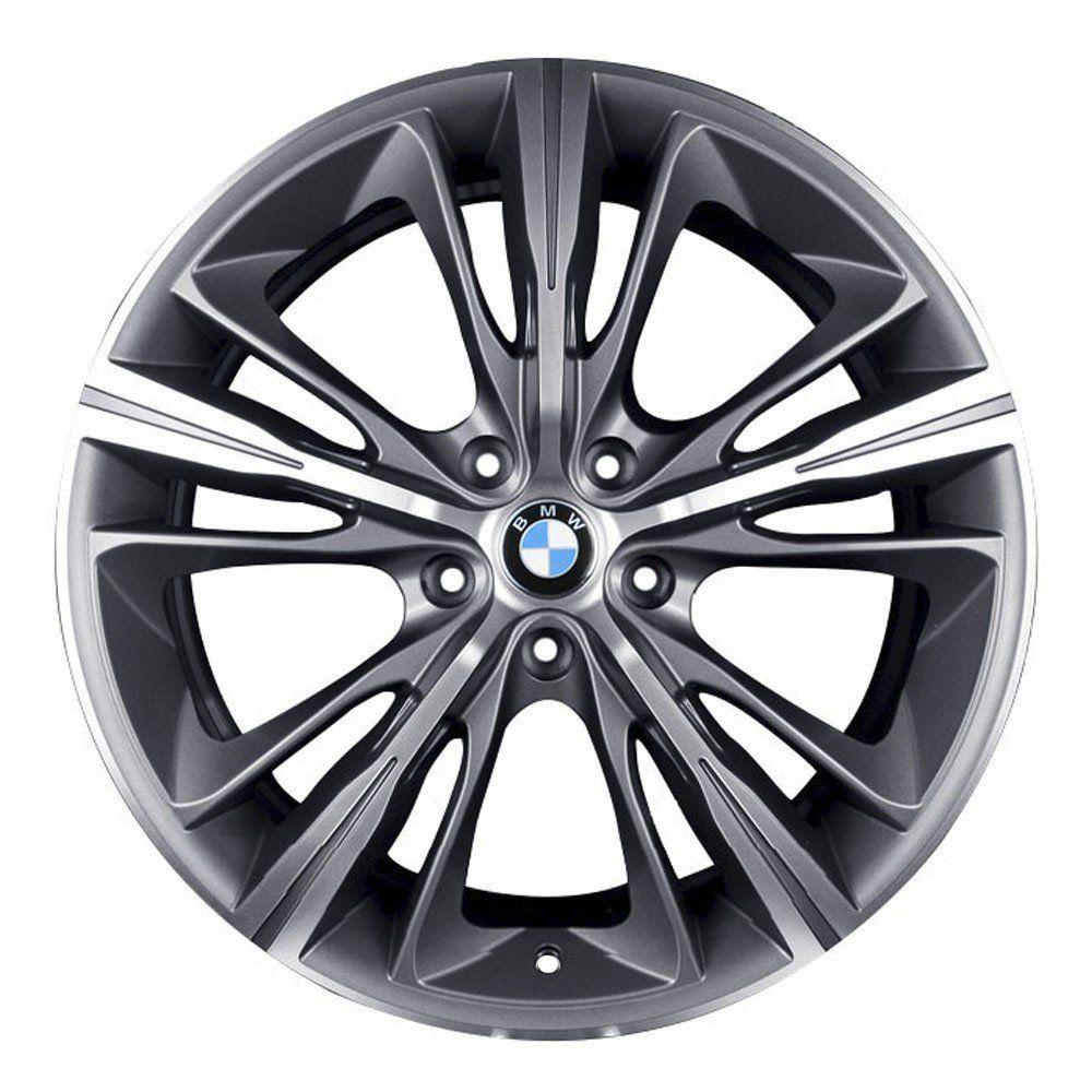 Jogo de 4 Rodas de Liga-Leve Aro 18 Krmai R55 5x100 (BMW 4 Series) - COR: GRAFITE DIAMANTADA