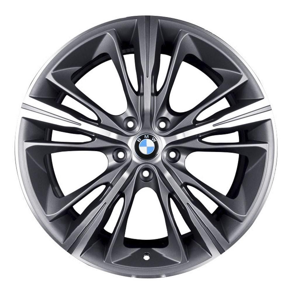 Jogo de 4 Rodas de Liga-Leve Aro 18 Krmai R55 5x120 (BMW 4 Series) - COR: GRAFITE DIAMANTADA