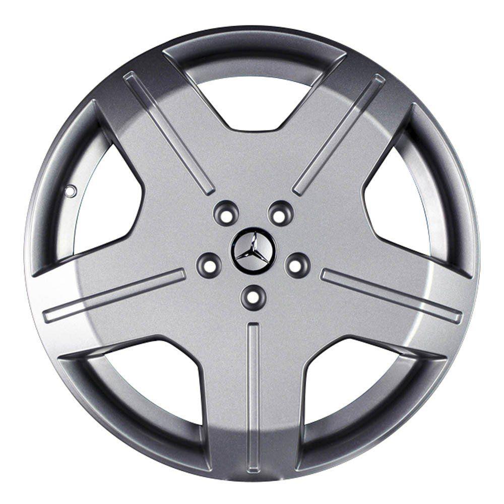 Jogo de 4 Rodas de Liga-Leve Aro 20 Krmai R48 5x100 (Mercedes-Bens) - COR: PRATA