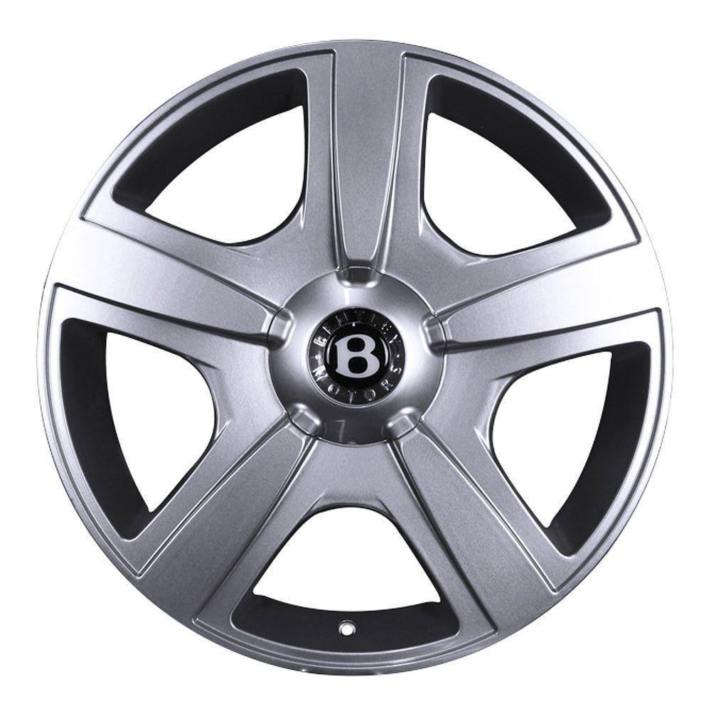 Jogo de 4 Rodas de Liga-Leve Aro 20 Volcano Fuji 5x100 (Original Bentley) - COR: PRATA