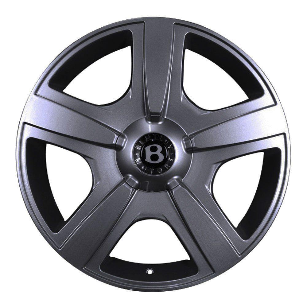 Jogo de 4 Rodas de Liga-Leve Aro 20 Volcano Fuji 5x114,3(Original Bentley) - COR: GRAFITE