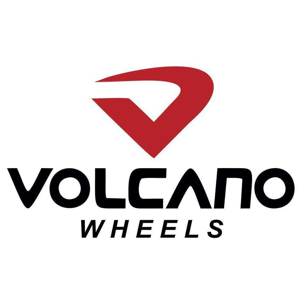 Jogo de 4 Rodas de Liga-Leve Aro 20 Volcano Rocket Ferrari 5x100 / 5x110 / 5x112