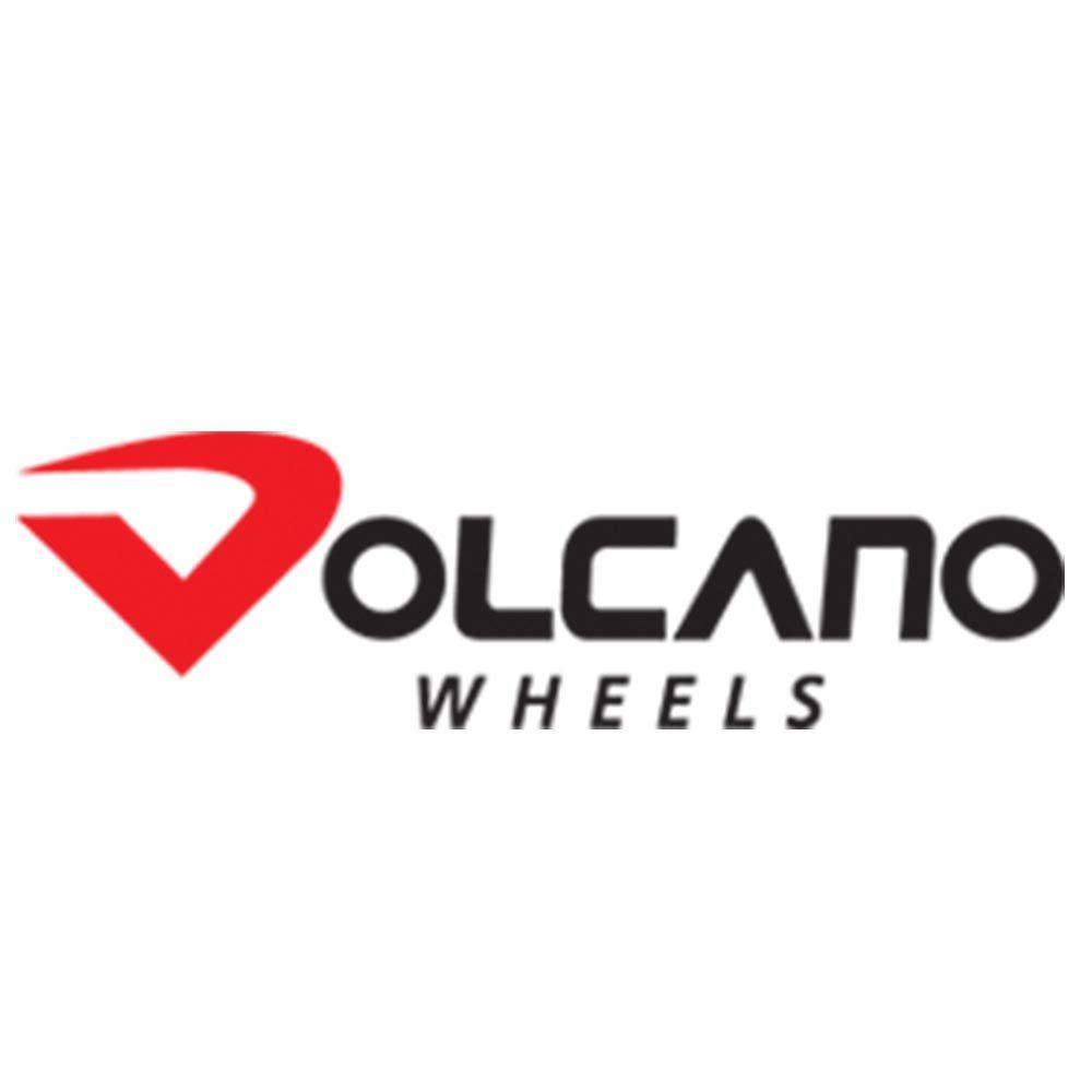 Jogo de 4 Rodas de Liga-Leve Aro 20 Volcano Rocket Ferrari 4x100 / 4x108