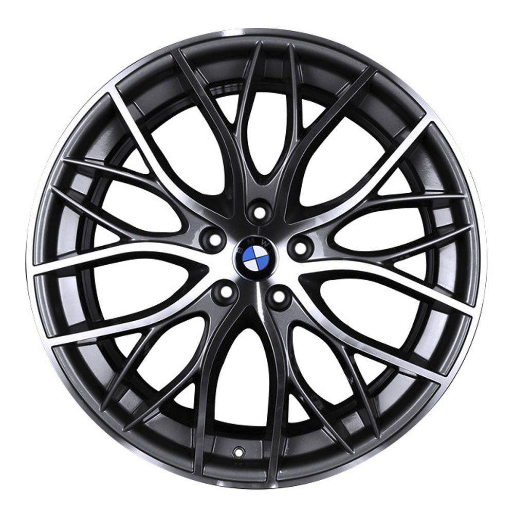 Jogo de 4 Rodas de Liga-Leve Aro 17 Krmai R54 5x100 (BMW 335i Biturbo) - COR: GRAFITE DIAMANTADA