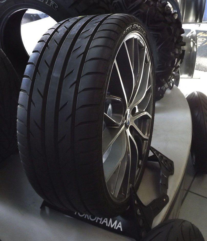 Jogo de Rodas + Pneus Aro 20 para BMW 5x120 (Seminovos)