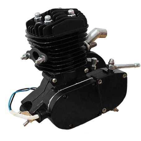 Kit Motor para Bicicleta 80cc a Gasolina Completo - COR: PRETA