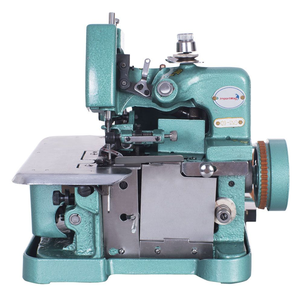 Máquina de Costura Overlock Portátil 220V