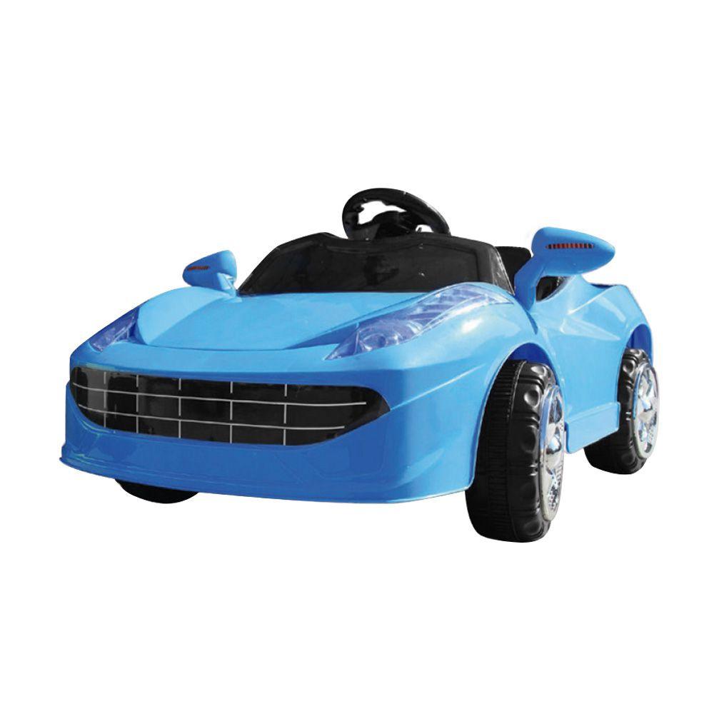 Mini Carro Elétrico BW005 - Azul (Modelo Ferrari)