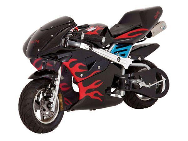 Mini Moto Speed 49cc - Preta