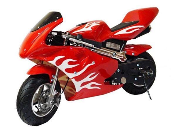 Mini Moto Speed 49cc - Vermelha