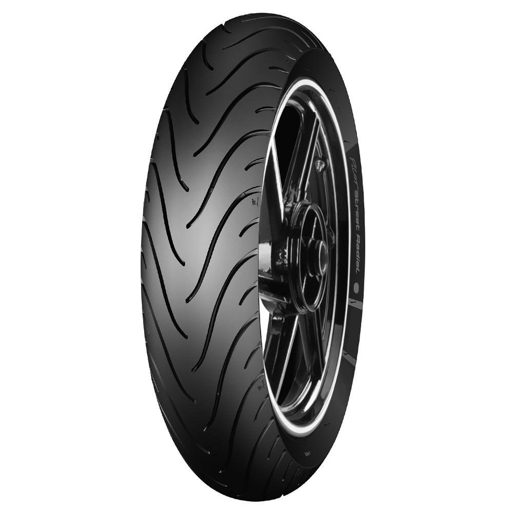 Pneu 110/80-14 Michelin Pilot Street 59P TL/TT Mais Largo Honda Biz e Pop 100 Moto (Traseiro)
