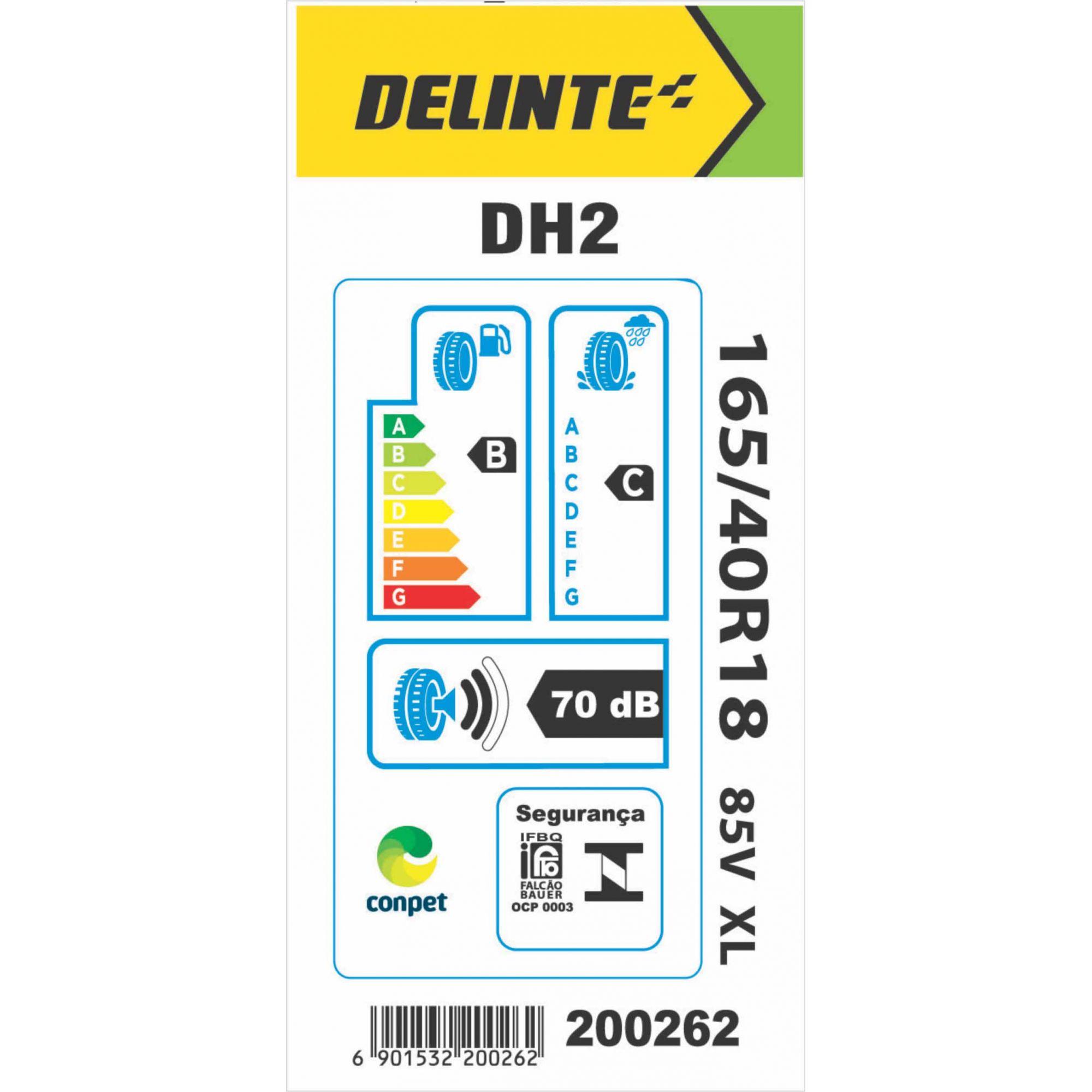Pneu 165/40R18 Delinte DH2 85V