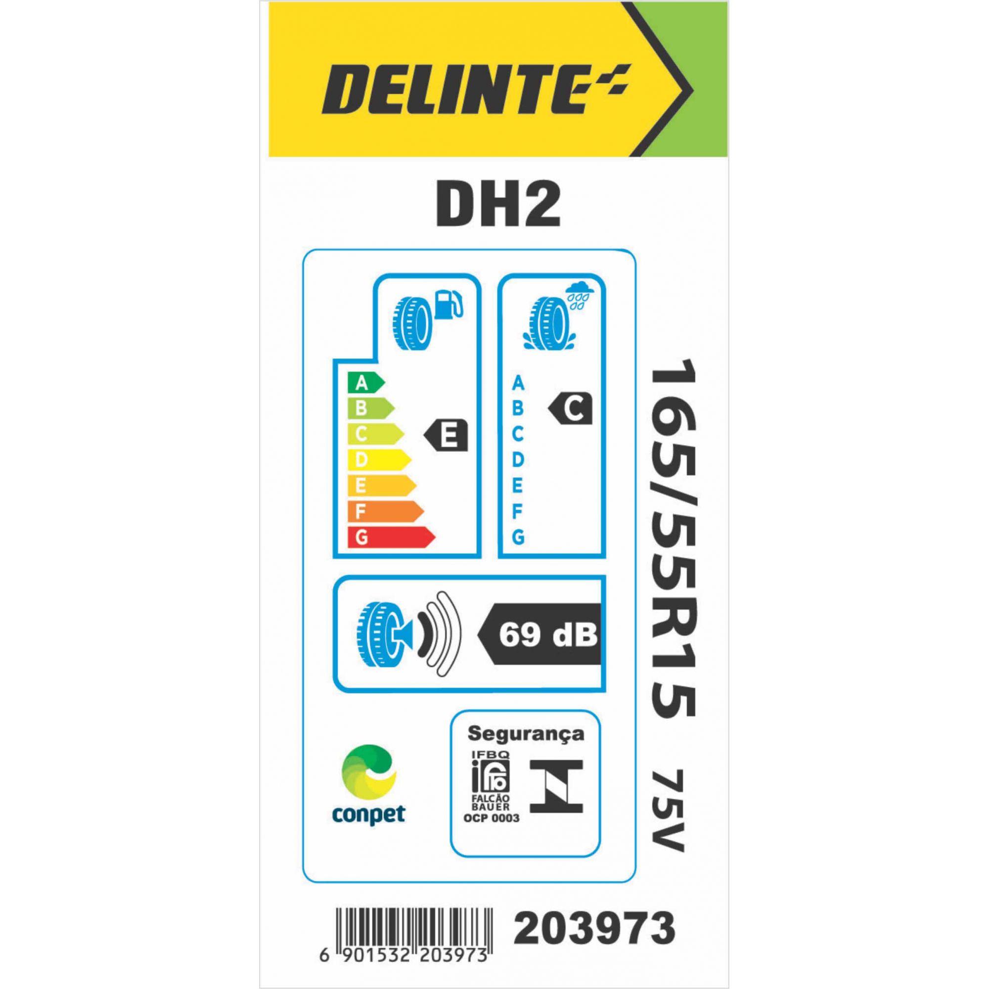 Pneu 165/55R15 Delinte DH2 75V